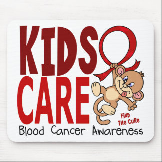 Kids Care 1 Blood Cancer Mouse Pads