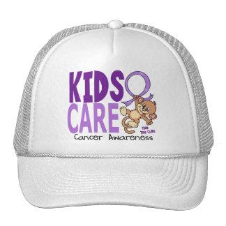 Kids Care 1 Cancer Trucker Hat