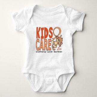 Kids Care 1 Endometrial Cancer Baby Bodysuit
