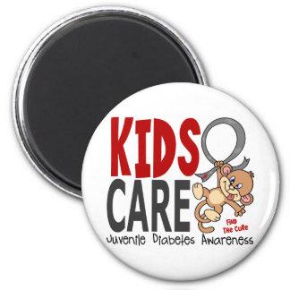 Kids Care 1 Juvenile Diabetes Refrigerator Magnet