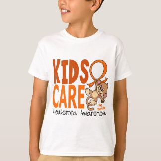 Kids Care 1 Leukemia T-Shirt