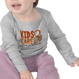 Kids Care 1 Leukemia Tshirt