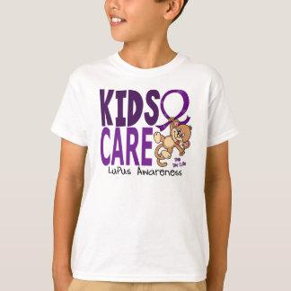 Kids Care 1 Lupus T-shirts