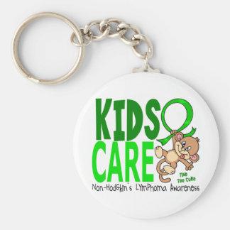 Kids Care 1 Non-Hodgkin s Lymphoma Keychains