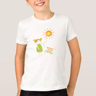 Kids Care :: Support Solar Energy T-Shirt