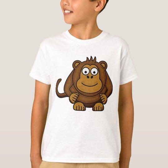 Kids Cartoon Monkey T-Shirt