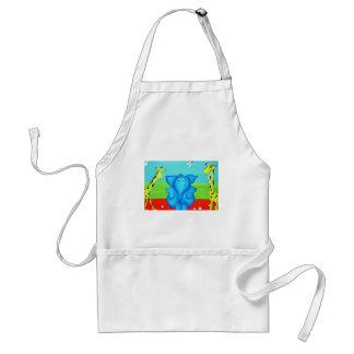 kids cartoon standard apron
