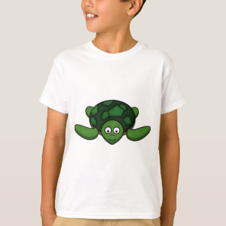 Kids Cartoon Turtle T-Shirt