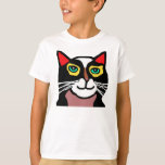 Kids Cat Cartoon T-shirt