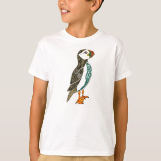 Kid's Celtic Puffin T-Shirt