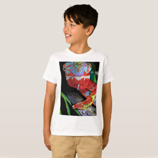 Kids Chameleon T Shirt