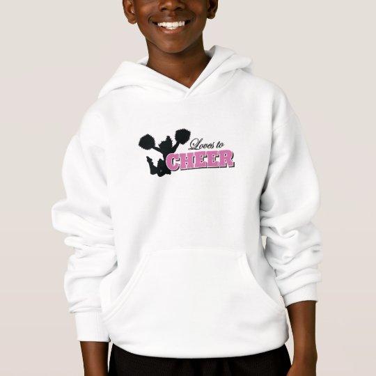 kids cheerleader sweatshirt