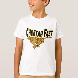 Kids Cheetah Fast Wild Animal Prints T-Shirt