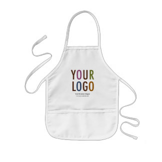 Kids Chef Apron with Company Logo or School Logo