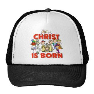 Kids Christian Christmas Gift Mesh Hats