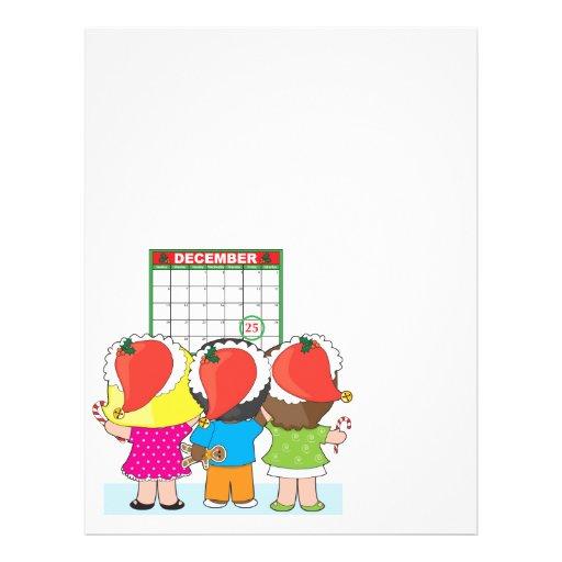 Kids Christmas Calendar Flyer