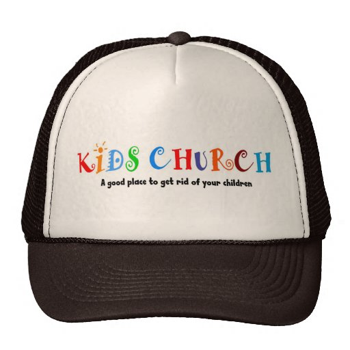 Kids Church Christian Gift Trucker Hat