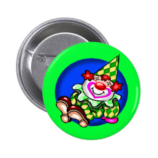 Kids Circus Clown T Shirts and Gifts 6 Cm Round Badge