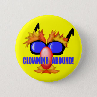 Kid's Circus Clown T Shirts and Gifts 6 Cm Round Badge
