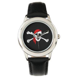 Kids Classic Watch/Pirate Skull Wristwatch