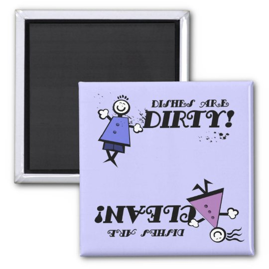 Kids Clean/Dirty Dishwasher Magnet