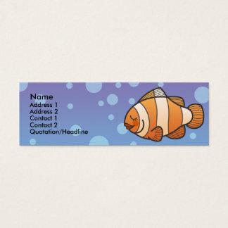 Kids Clown Fish Skinny Profile Cards
