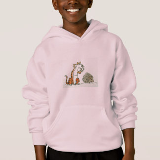 KIDS' COMFORTBLEND HOODIE - CARTOON TIGER