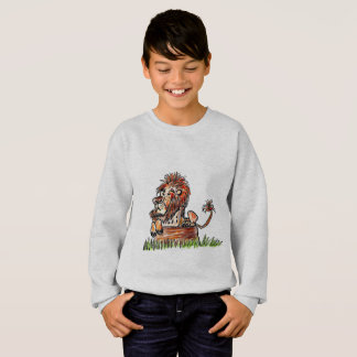 KIDS' COMFORTBLEND SWEATSHIRT - ARROGANT LION