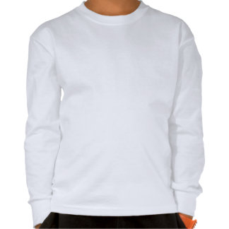 Kids Comfy Long Sleeve White T-shirt