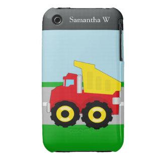 Kids Construction Dumptruck iPhone 3 Cover