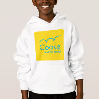 KIDS Cooke Grammar School Pullover Hoodie, White