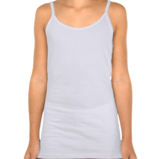 kid's cool blue violet hearts tank top