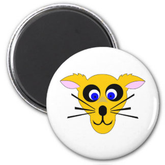 Kids Cool Character 6 Cm Round Magnet