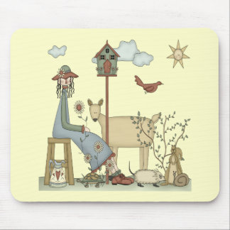 Kids Country Animals T Shirts and Gifts Mouse Pad