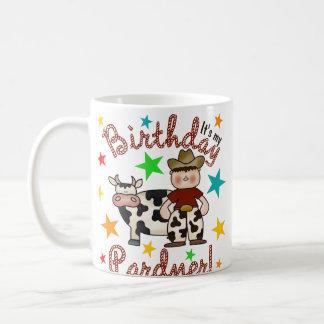 Kids Cowboy Birthday Classic White Coffee Mug