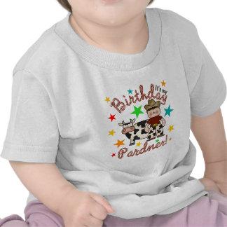 Kids Cowboy Birthday Shirts