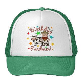 Kids Cowboy Birthday Trucker Hat