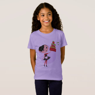 Kids creative t-shirt with Illustration : Lavender