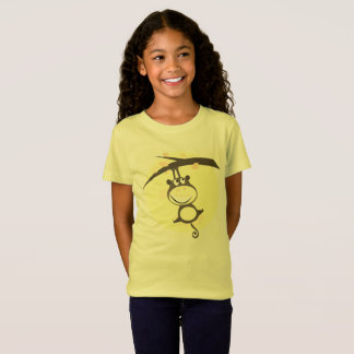 Kids creative t-shirt with Monkey