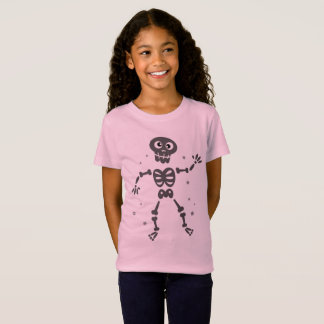 Kids creative t-shirt with Skeleton