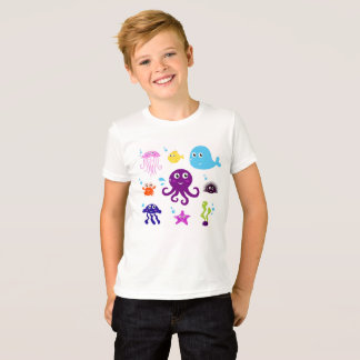 Kids Creative tshirt with Jellyfishes