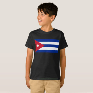 Kids Cuban Flag Shirt