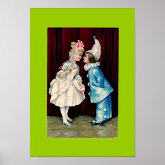 Kids Curtsy CHANGE COLOR ~ Poster