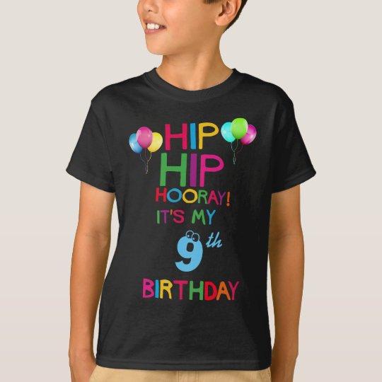 Kids Custom Birthday Party T Shirt - Add