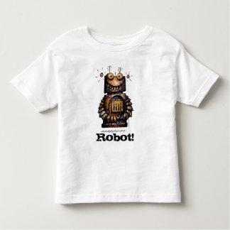 Kids Custom Funny Little Robot Shirts