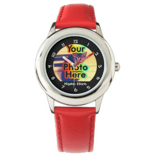 Kid's Custom Photo Watch