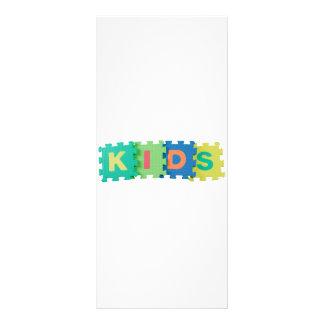 Kids Custom Rack Card
