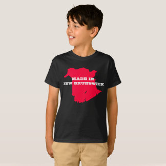 Kids Customisable Made in New Brunswick T-shirt