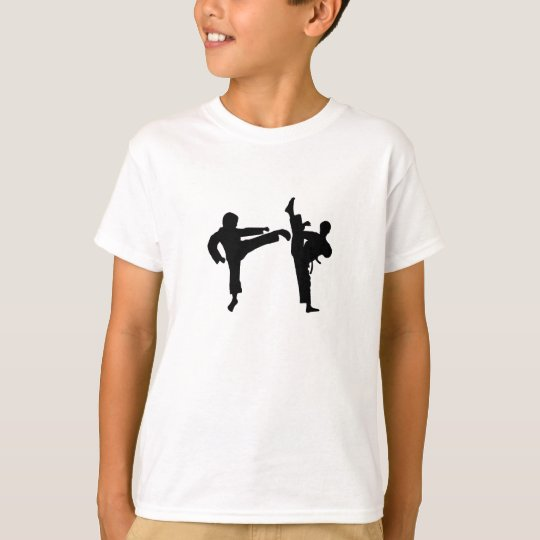 Kid's Customisable Martial Arts T-Shirt