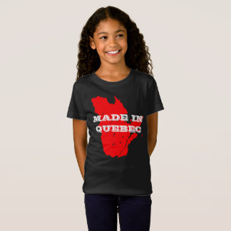 Kids Customizable Made in Quebec T-Shirt